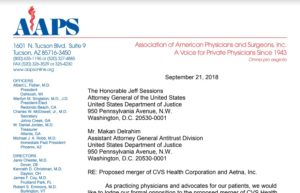 cvs-aetna - AAPS | Association of American Physicians and Surgeons